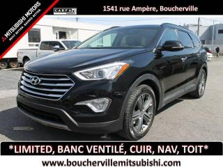 Used 2016 Hyundai Santa Fe XL LIMITED * 6 PASSAGERS, BANCS VENTILÉS * for sale in Boucherville, QC