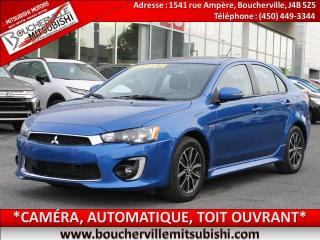 Used 2016 Mitsubishi Lancer SE LTD* TOIT OUVRANT, AILERON, MAGS * for sale in Boucherville, QC