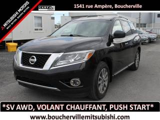 Used 2014 Nissan Pathfinder SV * BANCS CHAUFFANTS, TRACTION INTÉGRALE * for sale in Boucherville, QC