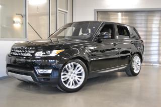Used 2016 Land Rover Range Rover Sport HSE V6 *BALANCE DE GARANTIE 6ANS/160000KM* for sale in Laval, QC