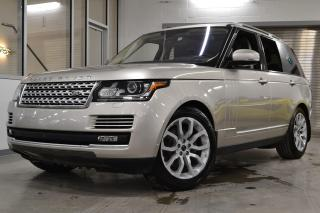 Used 2016 Land Rover Range Rover DIESEL Td6 HSE *BALANCE DE GARANTIE 6ANS/160000KM* for sale in Laval, QC