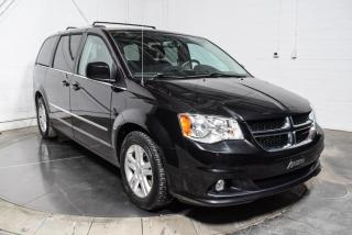 Used 2016 Dodge Grand Caravan CREW STOW N GO CUIR GROS ÉCRAN MAGS for sale in St-Hubert, QC
