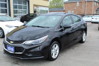 Used 2018 Chevrolet Cruze 1LT Sunroof for sale in Brampton, ON