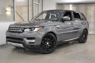 Used 2017 Land Rover Range Rover Sport Td6 HSE *BALANCE DE GARANTIE 6ANS/160000KM* for sale in Laval, QC