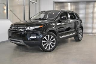 Used 2014 Land Rover Evoque Prestige *Bien équipé, Certifié!* for sale in Laval, QC