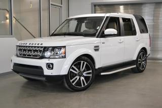 Used 2016 Land Rover LR4 AWD *Certifié, 7 passagers, bien équipé!* for sale in Laval, QC
