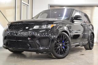 Used 2017 Land Rover Range Rover Sport V8 Supercharged SVR *Bas KM, bien équipé* for sale in Laval, QC