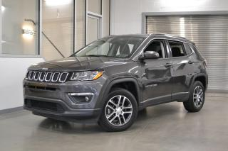 Used 2018 Jeep Compass *NORTH + 4WD + BAS KILOMETRAGE* for sale in Laval, QC