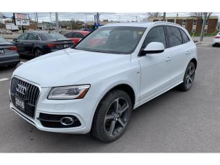 Used 2016 Audi Q5 Technik S-Line 3.0T Supercharged *Bang-&-O* for sale in St-Hubert, QC