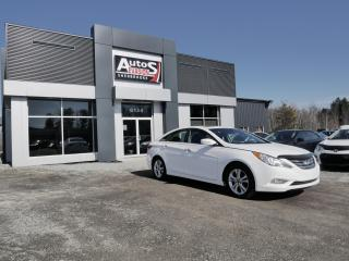 Used 2013 Hyundai Sonata Limited + CUIR + TOIT + INSPECTÉ for sale in Sherbrooke, QC
