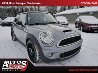 Used 2007 MINI Cooper S Vendu, sold merci for sale in Sherbrooke, QC