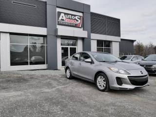 Used 2012 Mazda MAZDA3 Vendu, sold merci for sale in Sherbrooke, QC