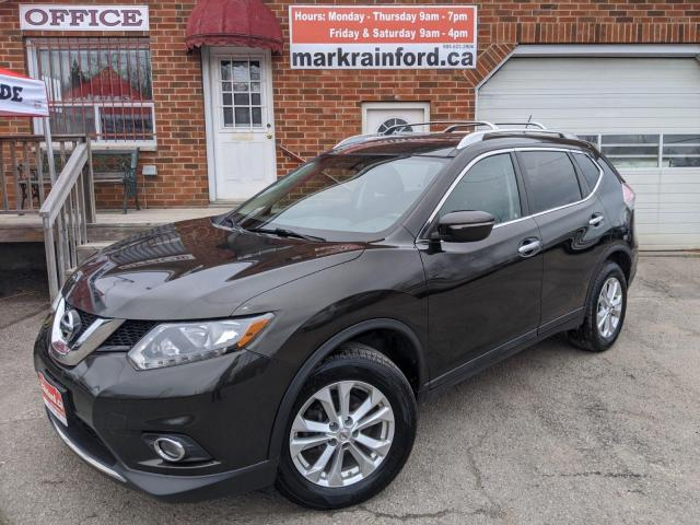 2015 Nissan Rogue SV AWD Pano Roof Back Up Cam