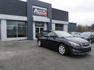 Used 2016 Subaru Impreza HB 2.0i AWD + INSPECTÉ + CAMÉRA DE RECUL for sale in Sherbrooke, QC
