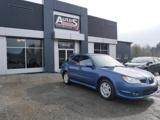 Used 2007 Subaru Impreza Vendu, merci for sale in Sherbrooke, QC