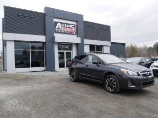Used 2016 Subaru XV Crosstrek 2.0i Limited + Tech Pkg + EYESIGHT + INSPECTÉ for sale in Sherbrooke, QC