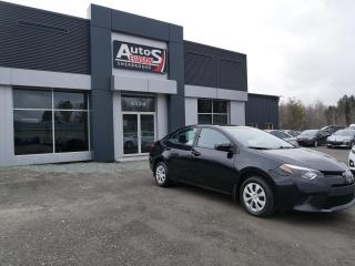 Used 2015 Toyota Corolla CE + A/C + BLUETOOTH + INSPECTÉ + BAS KILO for sale in Sherbrooke, QC