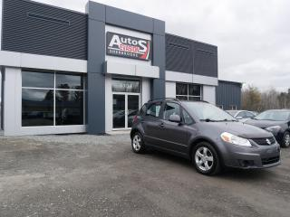 Used 2010 Suzuki SX4 JX AWD + INSPECTÉ, FREINS ARRIÈRES NEUFS for sale in Sherbrooke, QC