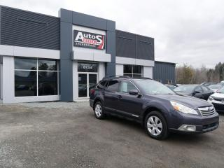 Used 2010 Subaru Outback Vendu, sold merci for sale in Sherbrooke, QC