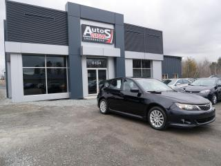 Used 2009 Subaru Impreza HATCHBACK 2.5i AWD + Sport Pkg + INSPECTÉ for sale in Sherbrooke, QC