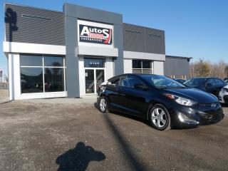 Used 2014 Hyundai Elantra COUPÉ GL + BLUETOOTH + MAGS + BAS KILO for sale in Sherbrooke, QC