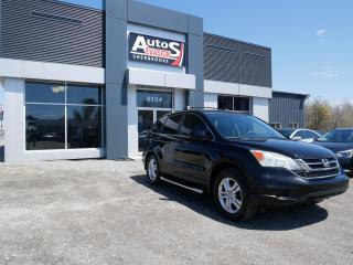 Used 2010 Honda CR-V EX 4WD + TOIT + INSPECTÉ FREINS NEUFS for sale in Sherbrooke, QC