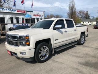 Used 2015 Chevrolet Silverado 1500 High Country-4x4-ACCIDENT FREE for sale in Stoney Creek, ON