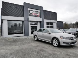 Used 2012 Volkswagen Passat Vendu, sold merci for sale in Sherbrooke, QC
