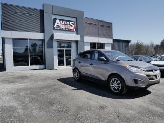 Used 2012 Hyundai Tucson GL AWD + BLUETOOTH + VITRES TEINTÉES + MARCHE-PIED for sale in Sherbrooke, QC