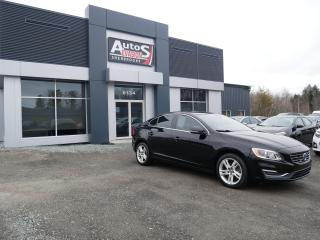 Used 2015 Volvo S60 T5 Premier Plus AWD + GPS + CUIT + VITRES TEINTÉES for sale in Sherbrooke, QC