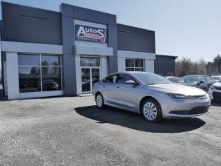 Used 2015 Chrysler 200 Vendu, sold merci for sale in Sherbrooke, QC