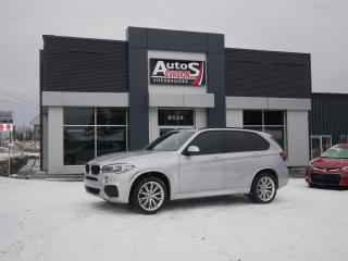 Used 2015 BMW X5 xDrive35i + M PACK + MAGS 20 + GPS for sale in Sherbrooke, QC