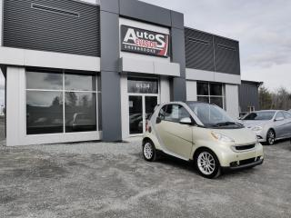 Used 2009 Smart fortwo Vendu, sold merci for sale in Sherbrooke, QC