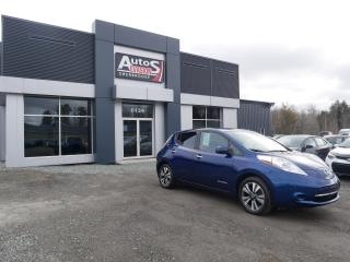 Used 2017 Nissan Leaf Vendu, sold merci for sale in Sherbrooke, QC