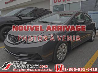 Used 2015 Honda Civic 4 portes, boîte manuelle, DX for sale in Sorel-Tracy, QC