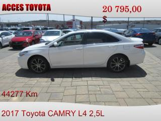 Used 2017 Toyota Camry XSE for sale in Rouyn-Noranda, QC