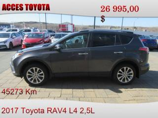 Used 2017 Toyota RAV4 AWD LIMITED for sale in Rouyn-Noranda, QC