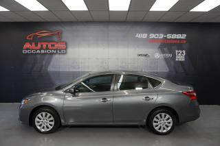 Used 2017 Nissan Sentra SV AUTO CAMERA BLUETOOTH DÉMARREUR 37 586 KM !! for sale in Lévis, QC