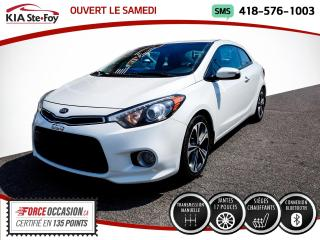 Used 2015 Kia Forte Koup *EX * MANUELLE* CAMERA* SIEGES CHAUFFANT for sale in Québec, QC