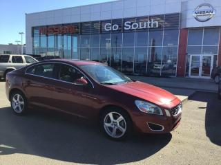 Used 2013 Volvo S60 T5, AWD, LEATHER, SUNROOF for sale in Edmonton, AB