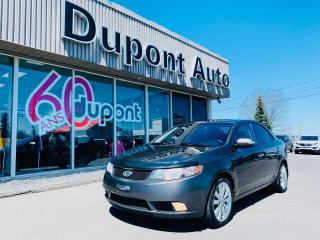 Used 2010 Kia Forte Berline SX 4 portes manuelle for sale in Alma, QC