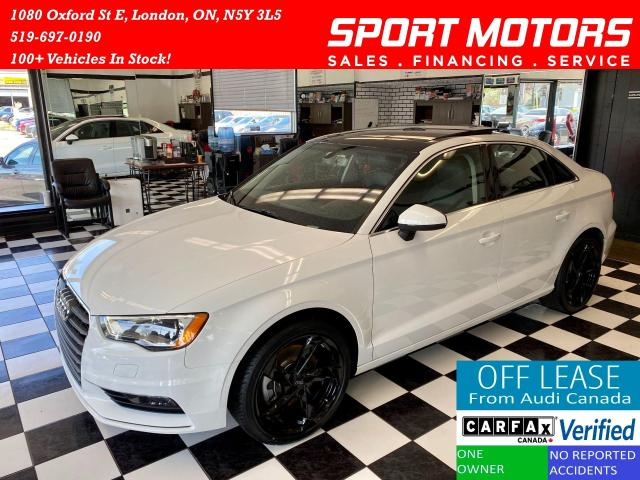 """2016 Audi A3 AWD+18"""" Rims+New Tires+Accident Free+Bluetooth"""