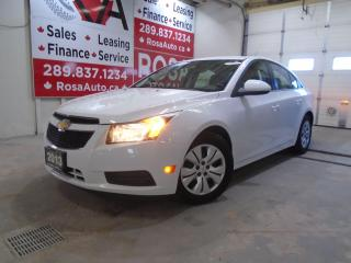 Used 2013 Chevrolet Cruze 4dr Sdn LT Turbo AUTO SAFETY NO ACCIDENT BLUE TOOT for sale in Oakville, ON