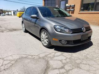 Used 2012 Volkswagen Golf Highline Certified for sale in Richmond Hill, ON