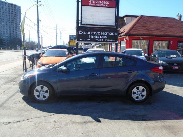 2016 Kia Forte LX/ NEW BRAKES AND TIRES / MINT / CERTIFIED /