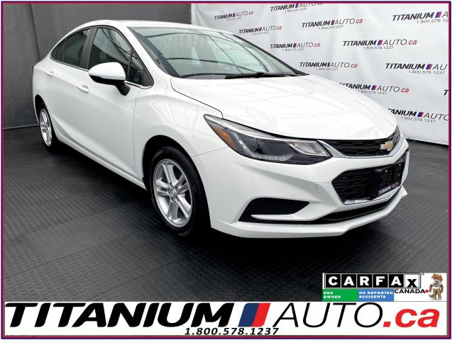 2016 Chevrolet Cruze LT+Camera+Heated Seats+Remote Start+Apple Play+XM+