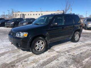 Used 2006 Ford Escape Limited for sale in Saskatoon, SK