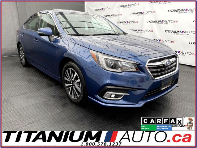 2019 Subaru Legacy Touring+EyeSight+Sunroof+Apple Play+Blind Spot+XM+
