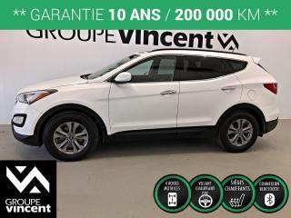Used 2016 Hyundai Santa Fe SPORT 2.0T PREMIUM AWD ** GARANTIE 10 ANS ** Idéal pour les défis de la route! for sale in Shawinigan, QC