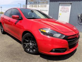 Used 2013 Dodge Dart **RALLYE,BAS KILO,AUCUN ACCIDENT** for sale in Longueuil, QC
